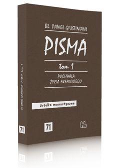 W niniejszej książce zebrano część pism weneckiego patrycjusza Pawła Justinianiego. W roku 1510, w wieku 34 lat, Justiniani zostaje mnichem w eremie kamedułów, ale porzuca klasztor w roku 1520, żeby założyć nowe zgromadzenie: Eremitów Kamedułów Góry Koronnej.   >> http://tyniec.com.pl/product_info.php?products_id=963