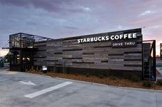 temporary shop Starbucks