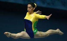 Resultado de imagem para atleta ouro ginastica olimpica solo do Brasil