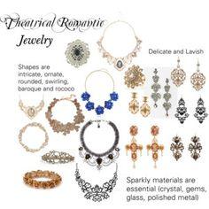 Theatrical Romantic Jewelry