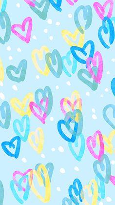 Wallpaper Size, Cute Patterns Wallpaper, Heart Wallpaper, Iphone Background Wallpaper, Butterfly Wallpaper, Computer Wallpaper, Colorful Wallpaper, Aesthetic Iphone Wallpaper, Cool Wallpaper