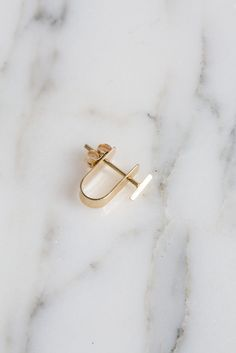Kathleen Whitaker Bevel Stud and Cuff