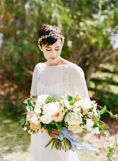 Chic Garden Party Inspiration by Heidi Lau, featuring Saja Wedding Dress RC6257. See it on the Saja Wedding Blog: http://sajawedding.weebly.com/blog/chic-garden-party-inspiration