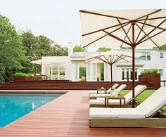 Design by S. Russell Groves. Photo by Bruce Buck. From Architectural Digest.
