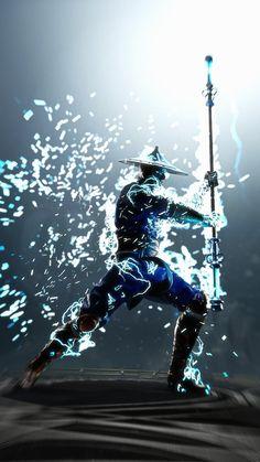 Lord Raiden, Mortal Kombat, Blue, Art, Art Background, Kunst, Performing Arts, Art Education Resources, Artworks