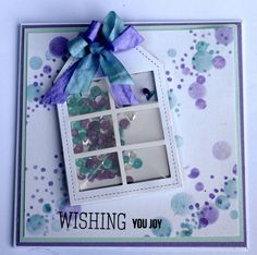 Created by Heather for the Simon Says Stamp Wednesday challenge (Sparkle and Shine)