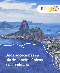 Unas vacaciones en Río de Janeiro, únicas e inolvidables   Vibrante y llena de color, #RíodeJaneiro es una ciudad donde disfrutar de unas #vacaciones inolvidables por sus #playas, su ambiente y mucho más. #Destinos