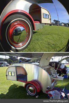 old teardrop trailers | teardrop for pm sage woody not mine teardrops i come