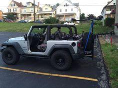 Jeep Kayak Rack For Soft Top Jeep Hitchmount Rack Sport