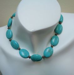 Hey, I found this really awesome Etsy listing at https://www.etsy.com/listing/210733887/oval-turquoise-jewelry-set-teal