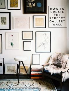 how to create the perfect gallery wall Dustin Peyser DustinPeyser.com DustinPeyser@kw.com San Diego County Realtor
