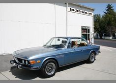 1971 BMW 2800 CS - My 2002 Ti was this colour. I really wanted this car, though.