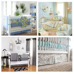 #Baby bedrooms and cute #crib ideas