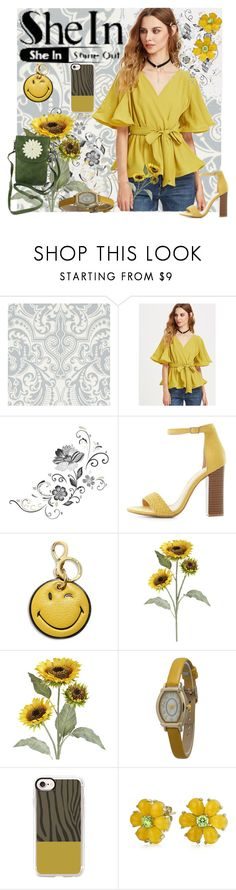 """""""Sun SheIn"""" by mystic2awesome ❤ liked on Polyvore featuring Ralph Lauren Home, York Wallcoverings, Charlotte Russe, Anya Hindmarch, Pier 1 Imports, Olivia Pratt, Casetify and Bling Jewelry"""