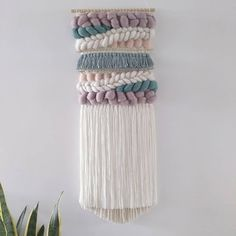 Home Tex, Teal Duck, Modern Tapestries, Woven Wall Hanging, Tapestry Weaving, Mink, Hand Weaving, Egg, Blush