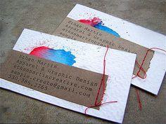 Handmade Business Card Designs