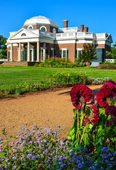 Thomas Jeffersons Monticello, Virginia - The only private home in the United States on the UNESCO World Heritage List.
