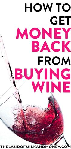 This is an amazing personal finance tip to earn some extra cash! I mean, we all need a bit of wine from time to time. So if I can get money for buying alcohol, that makes it way easier for me to save money and protect my budget! Save Money On Groceries, Ways To Save Money, How To Get Money, Money Fast, Saving Money Weekly, Money Saving Tips, Money Savers, Money Plan, Money Tips
