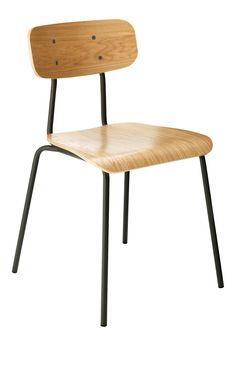 HESTER Esszimmerstühle Anthrazit Holz