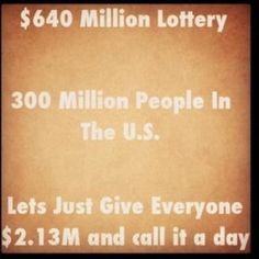 dividing the lottery