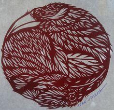 cuervo paper cut