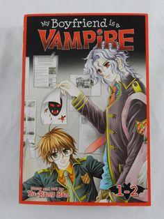 My Boyfriend is a Vampire Manga 1-2 Book Graphic Novel Yu Rang Han