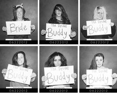 fun bachlorette party photo idea.-- me and my girls are so doing this lol