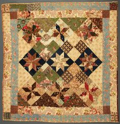 Le Moyne Star[1830-1850]   Briscoe Center for American History, University of Texas at Austin: Winedale Quilt Collection