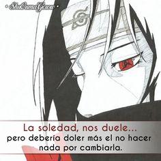 loneliness, it hurts . but it should hurt more to not do anything to change it Sad Anime, Otaku Anime, Anime Love, Kawaii Anime, Anime Guys, Sasuke And Itachi, Naruto Uzumaki, Anime Naruto, Boruto