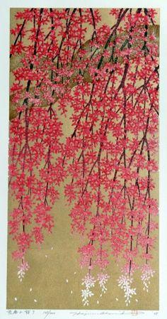 gacougnol:   NAMIKI Hajime Weeping Cherry Tree 9 2008