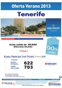 Tenerife - 90% Bahía Príncipe San Felipe salidas desde Bilbao - http://zocotours.com/tenerife-90-bahia-principe-san-felipe-salidas-desde-bilbao/