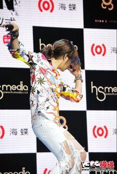 Team H I Just Wanna Have Fun PressCon in Beijing 20130314