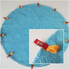 """Tuto : Le sac de piscine """"pieds au sec"""" Tutorial: The """"dry feet"""" pool bag – Ulane's creations Pincushion Tutorial, Zipper Pouch Tutorial, Love Sewing, Baby Sewing, Bib Pattern, Creation Couture, Couture Sewing, Sewing Accessories, Sewing Projects For Beginners"""