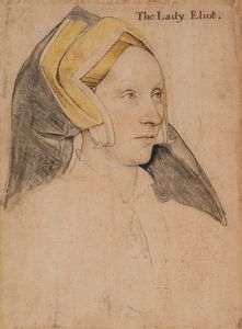 Margaret, Lady Elyot (c.1500-1560), Hans Holbein the Younger