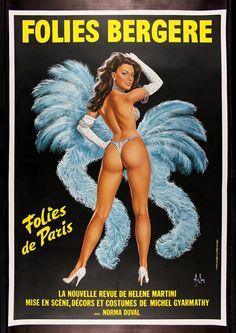 Folies Bergere - Blue Version