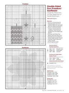 ru / Фото - Just Cross Stitch — August 2017 - Chispitas Just Cross Stitch, Cross Stitch Needles, Cross Stitch Heart, Cross Stitch Kits, Cross Stitch Designs, Cross Stitch Patterns, Cross Stitching, Cross Stitch Embroidery, Embroidery Patterns