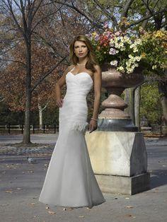Strapless Elegant Wedding Dress