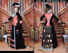 victorian bustle styles | ... Bustle Dress In the WORLD, Victorian Dress- Bustle Dress, Victorian