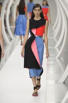 Le style très graphique de la mode Roksanda (Fashion Week London)