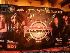 Se anunciaron las entradas Rock and Roll All Stars Costa Rica, y estas se empezaran a vender a partir del 3 de marzo. Este mega concierto que une a las leyendas del rock en una sola tarima, quienes seran presentados por Charlie Sheen, es una produccion de Brunka Producciones.