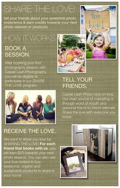 Share the Love Referral Credit Program
