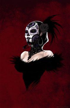 La Dama De La muerte by ~joebenitez on deviantART