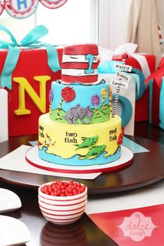 Dr. Seuss — Children's Birthday Cakes