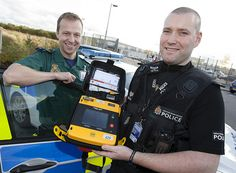 Defibrillators are now fitted in police vehicles on GMPs North Manchester Division. Installed with the support of the North West Ambulance Service, they allow officers to provide potentially life-saving care in emergencies if they are the first to arrive at the scene. The Automated External Defibrillators (AEDs) were fitted into traffic cars earlier this year and were used within a day of being installed. Two officers used a device on a man in Cheadle in April, he later made a full recovery.