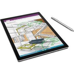 Microsoft Surface Pro 4 Tablet - 12.3' 3:2 Multi-touch Screen - 2736 x 1824 - PixelSense - Intel Core i7 (6th Gen) - 8 GB - 256 CXN-00001