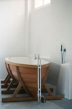 nonconcept: Boat bath by Wieki Somers.