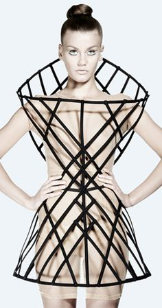 Cages, It Turns Out, Make Fantastic Articles of Clothing