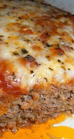 Recipe for Italian Meatloaf - This outstanding Italian Meatloaf recipe is sure to please the entire family, and the leftovers (if you're lucky enough to have any!) are amazing!
