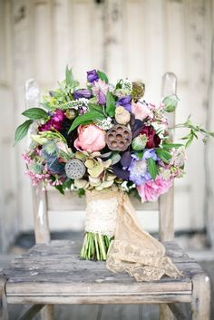whimsical bouquet | Photo by Apryl Ann, Floral Design by Bows & Arrows