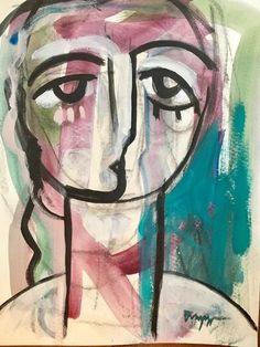 15x11 Acrylic on watercolor paper, Craig Greene